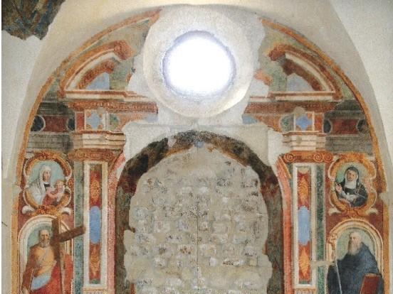 Andrea Barbiani nella chiesa di San Filippo e San Giacomo