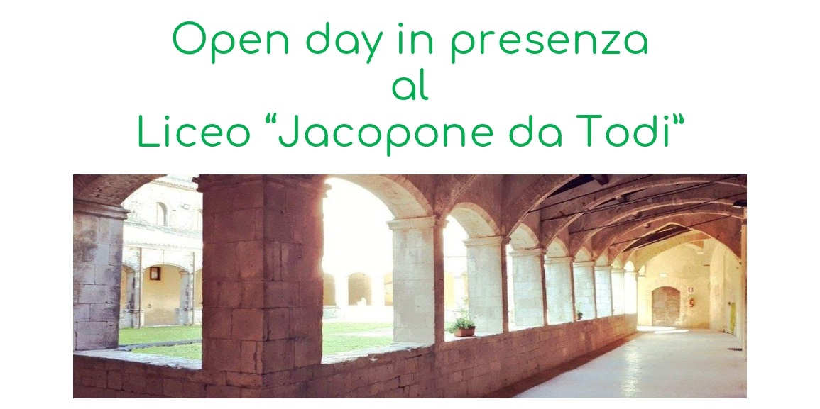 open day 2020 21